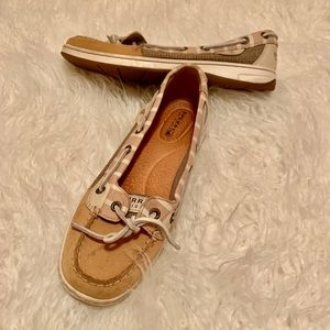 Sperry Angelfish Striped Boat Shoe